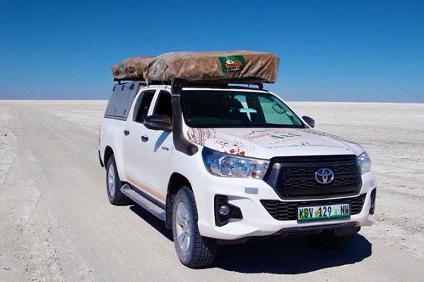 Botswana - Salt pans